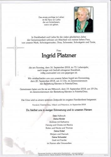 Ingrid Platzner