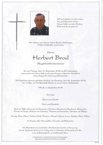 Herbert Brod