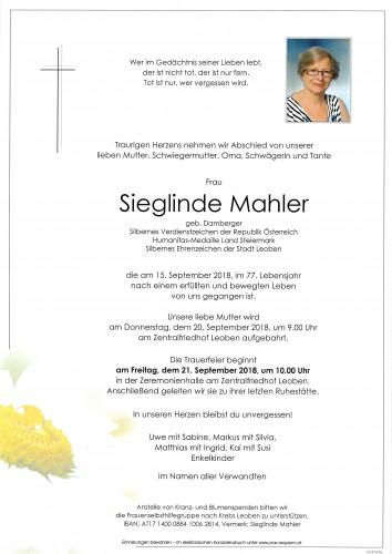 Sieglinde Mahler