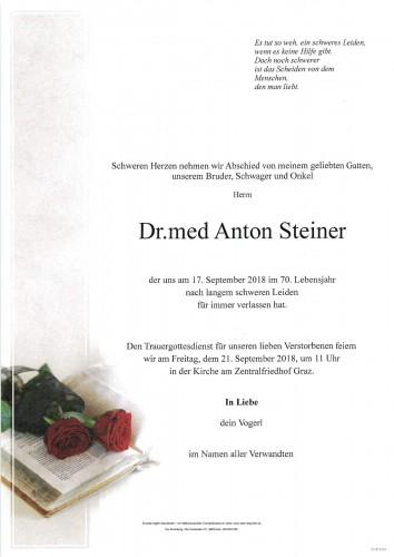 Dr.med Anton Steiner