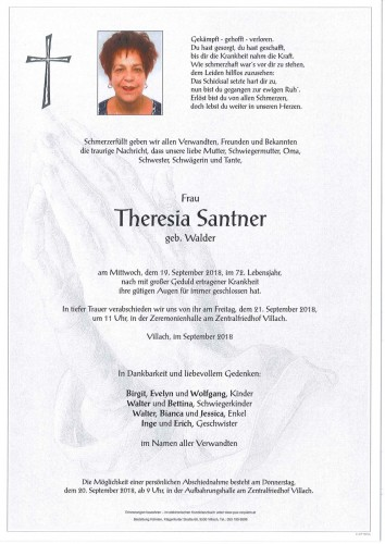 Theresia Santner
