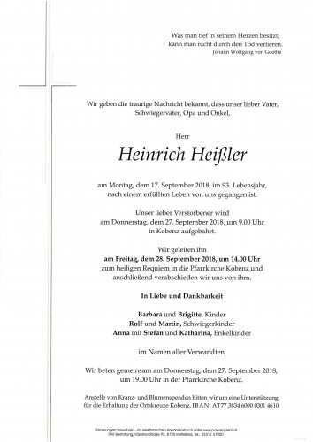 Heinrich Heißler