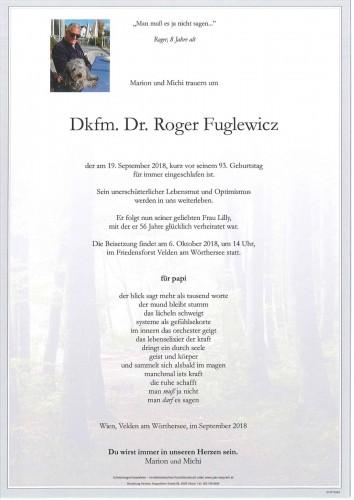 Dkfm. Dr. Roger Fuglewicz