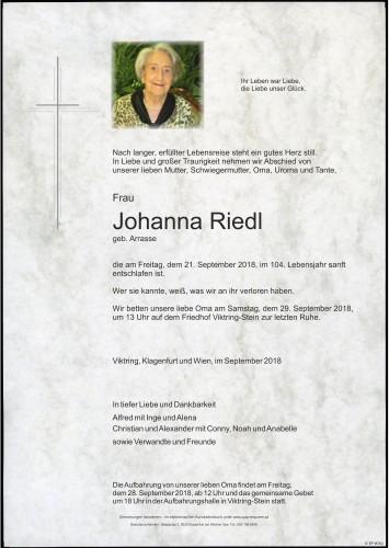 Johanna Riedl