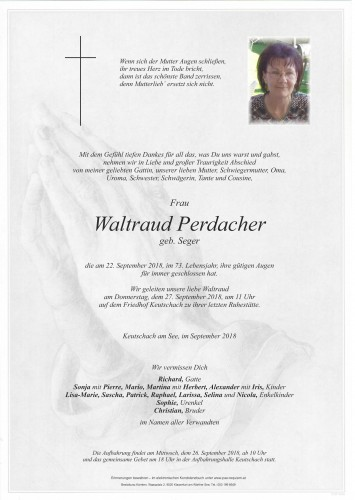 Waltraud Perdacher