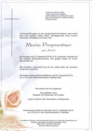 Maria Proprentner