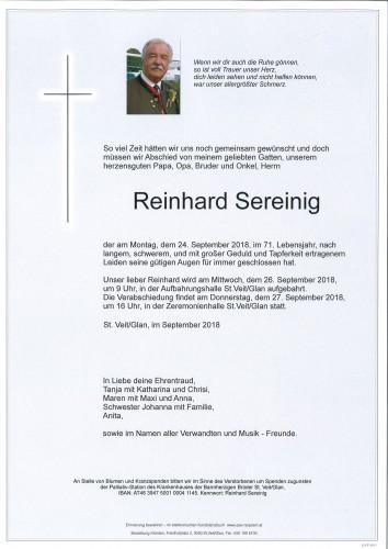 Reinhard Sereinig