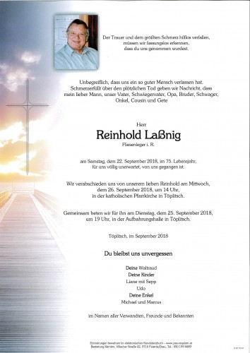 Reinhold Laßnig