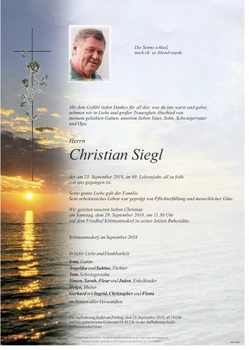 Christian Siegl