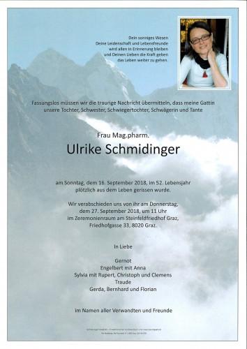 Mag. Ulrike Schmidinger