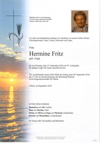 Hermine Fritz