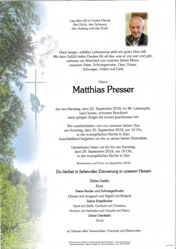 Matthias Presser