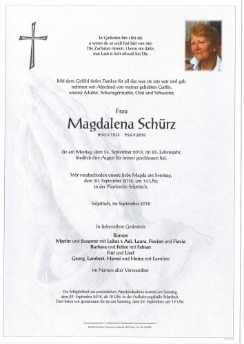 Magdalena Schürz