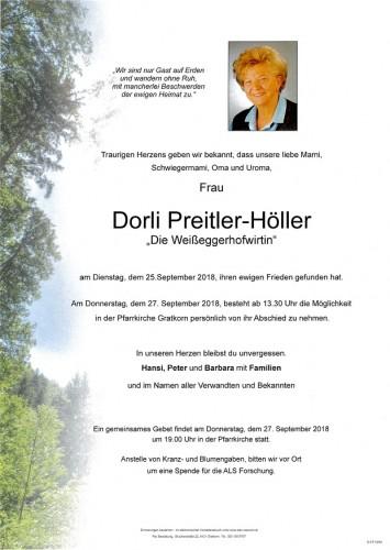 Dorli Preitler-Höller