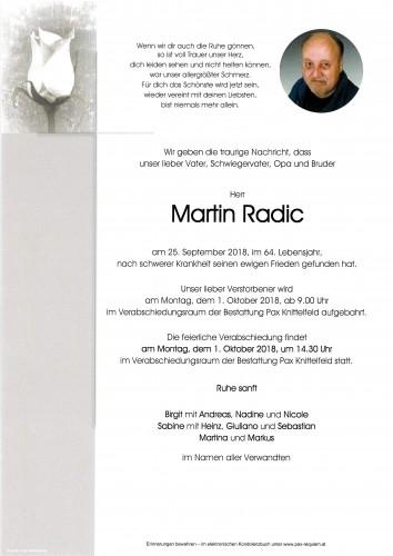 Martin Radic