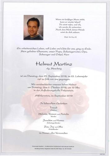 Helmut Martinz