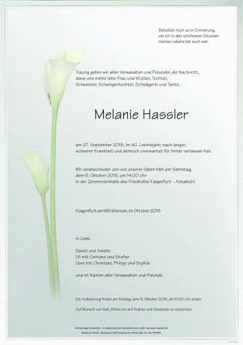 Melanie Hassler