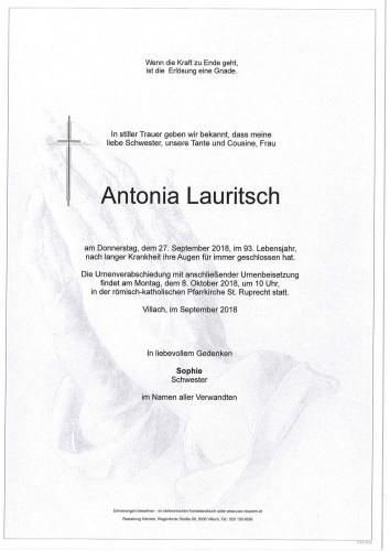 Antonia Lauritsch
