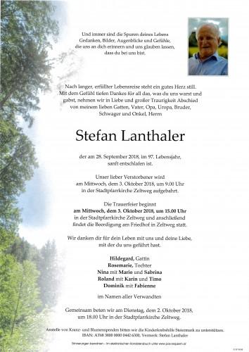 Stefan Lanthaler