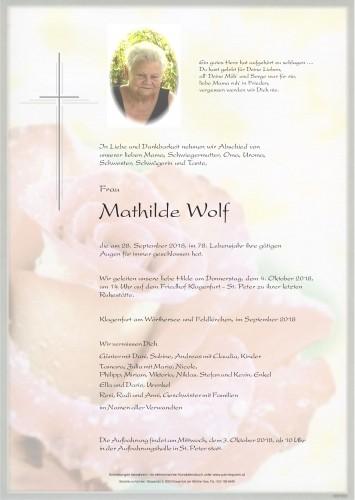Mathilde Wolf
