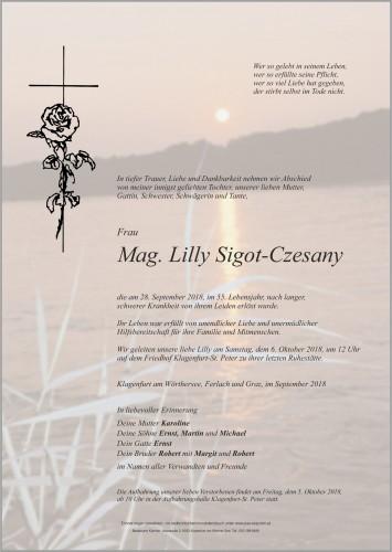 Mag. Lilly Sigot-Czesany