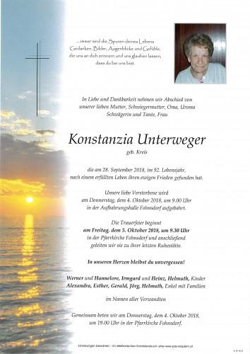 Konstanzia Unterweger