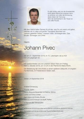 Johann Pivec