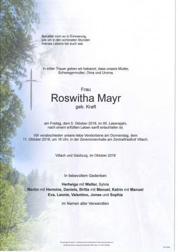 Roswitha Mayr
