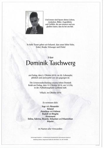 Dominik Taschwerg