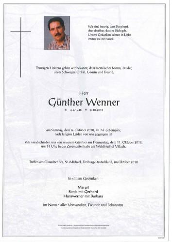 Günther Wenner