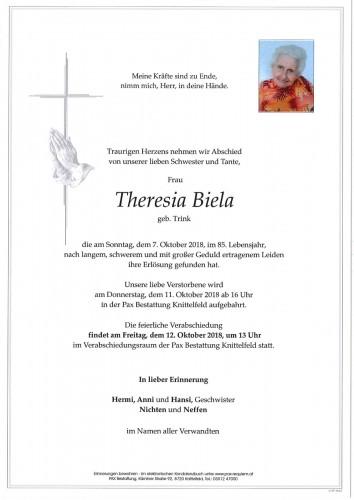 Theresia Biela geb. Trink