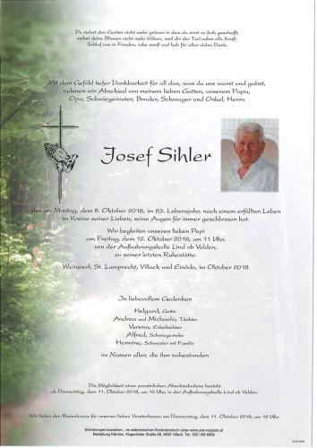 Josef Sihler