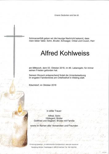 Alfred Kohlweiss