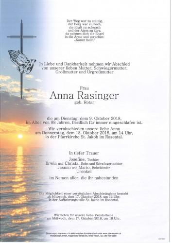 Anna Rasinger