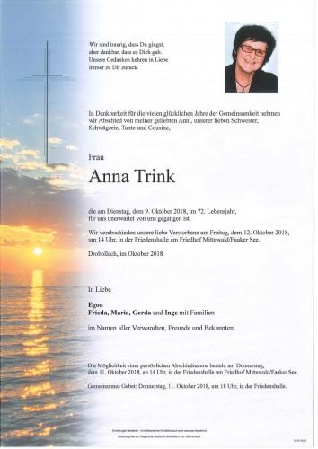 Anna Trink