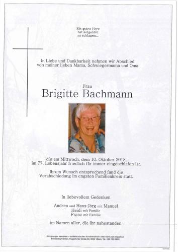 Brigitte Bachmann