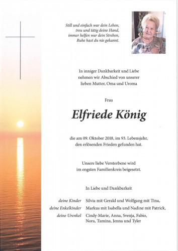 Elfriede König