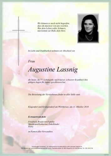 Augustine Lassnig