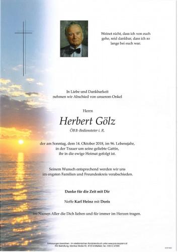 Herbert Gölz