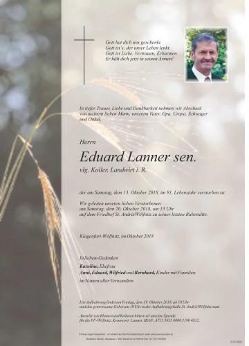Eduard Lanner sen.