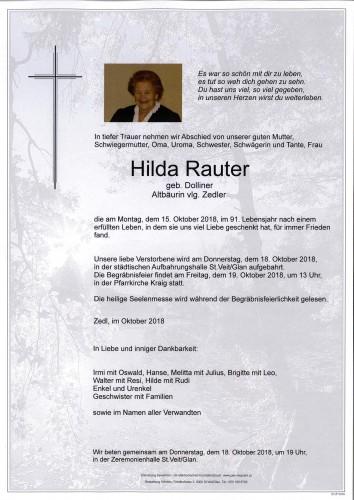 Hilda Rauter