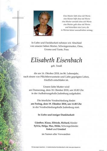 Elisabeth Eisenbach
