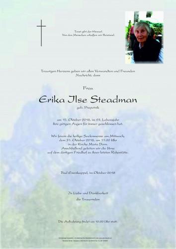 Erika Ilse Steadman