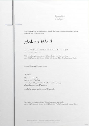 Jakob Weiß