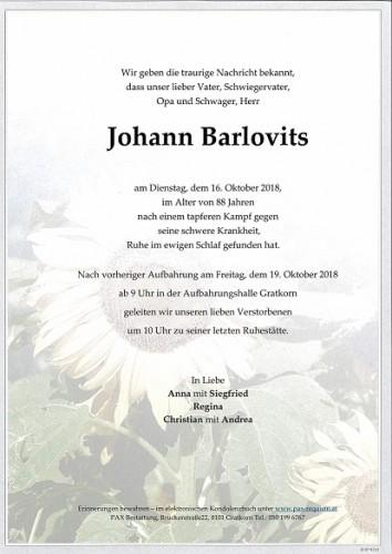 Johann Barlovits