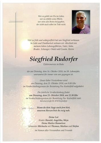 Siegfried Rudorfer