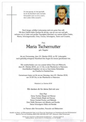 Maria Tschernutter