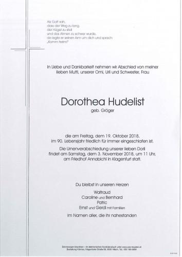 Dorothea Hudelist
