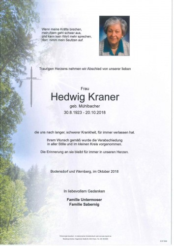 Hedwig Kraner