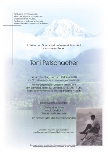 Toni Petschacher